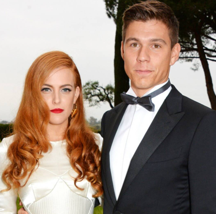 Riley Keough and her husband, Ben Smith-Petersen