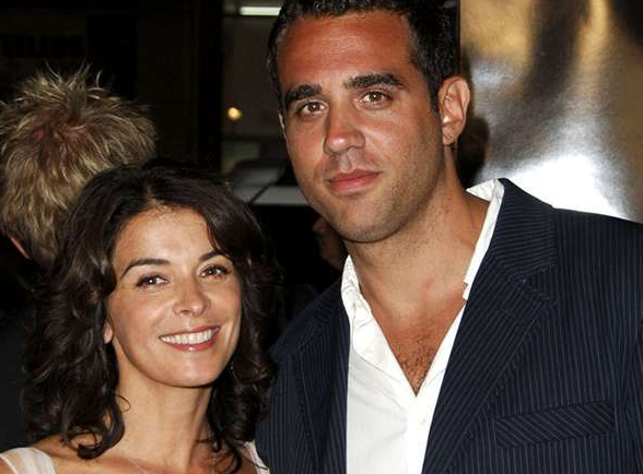 Annabella Sciorra With His Ex Husband Joe Petruzzi
