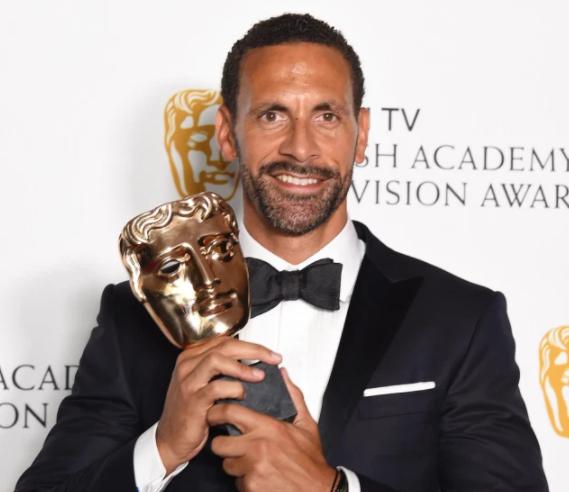 Rio Ferdinand with the single Documentary award