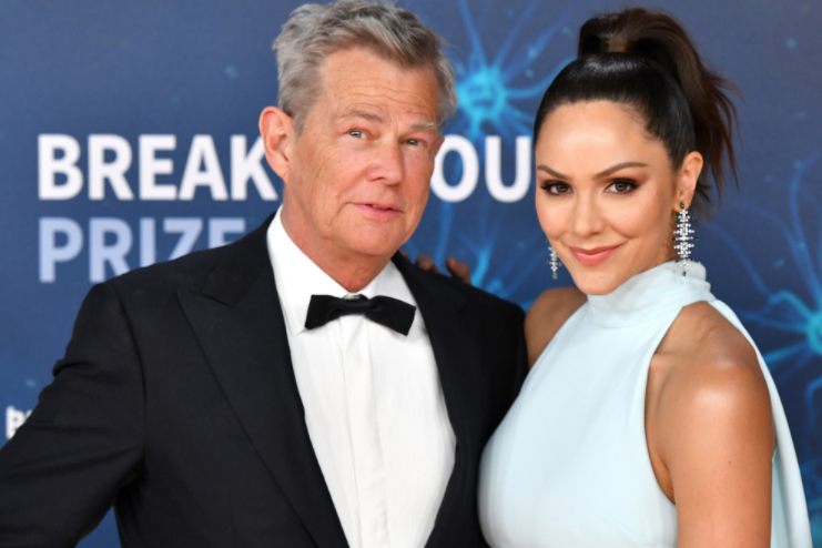 David Foster and Katharine McPhee on 28th June 2019 at the Armenian Church of St Yeghiche