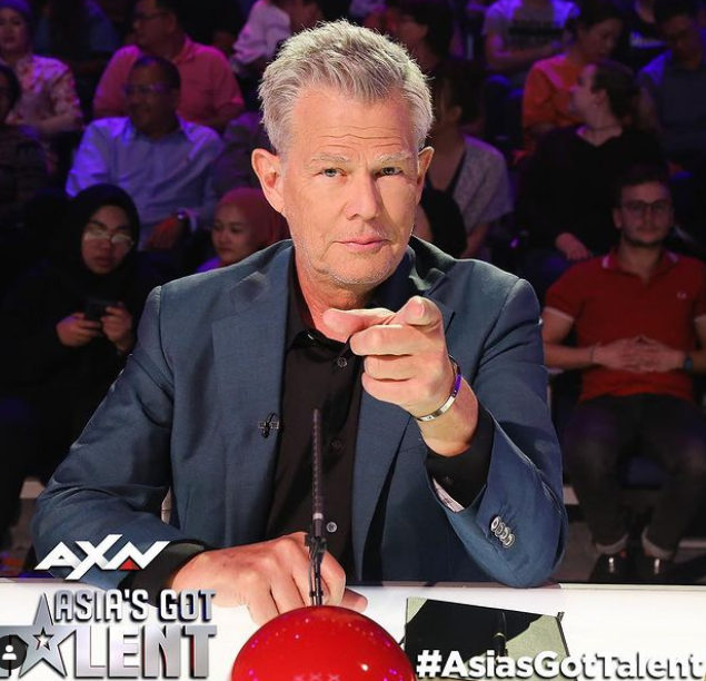 In 2015, Foster joined the panel of judges for Asia's Got Talent
