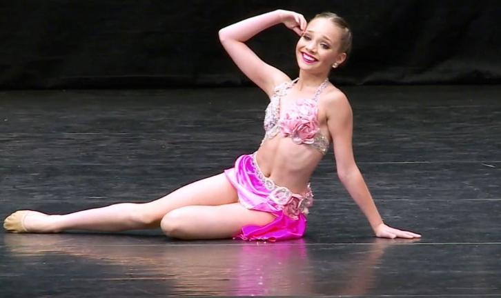 Maddie Ziegler in Dance Moms