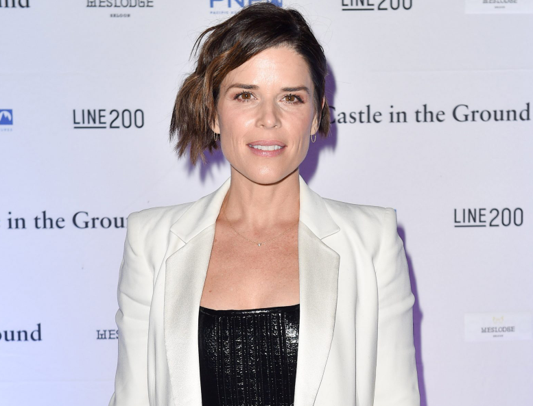 Neve Campbell, a famous Canadian actress