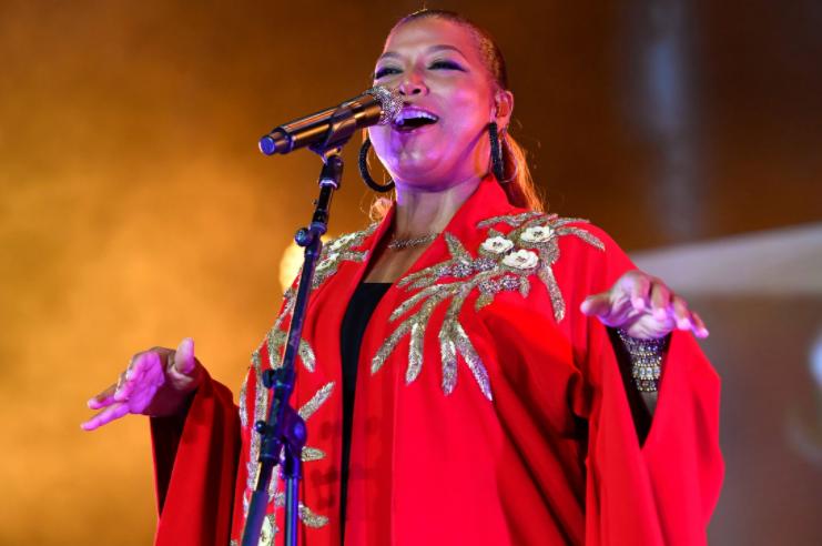 Queen Latifah, a famous singer as well as an actress