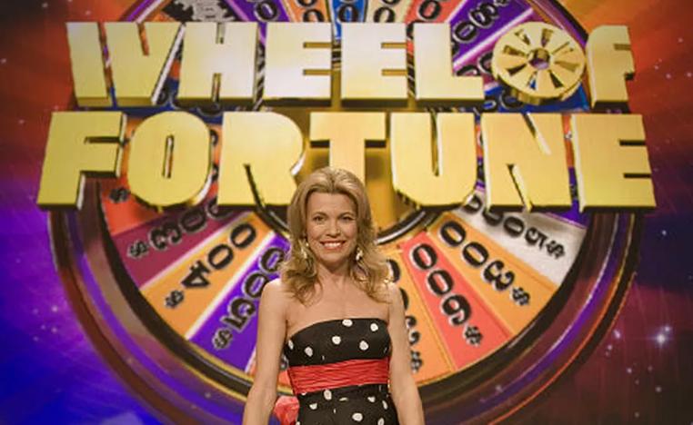 Vanna White Hosting Wheel Of Fortune