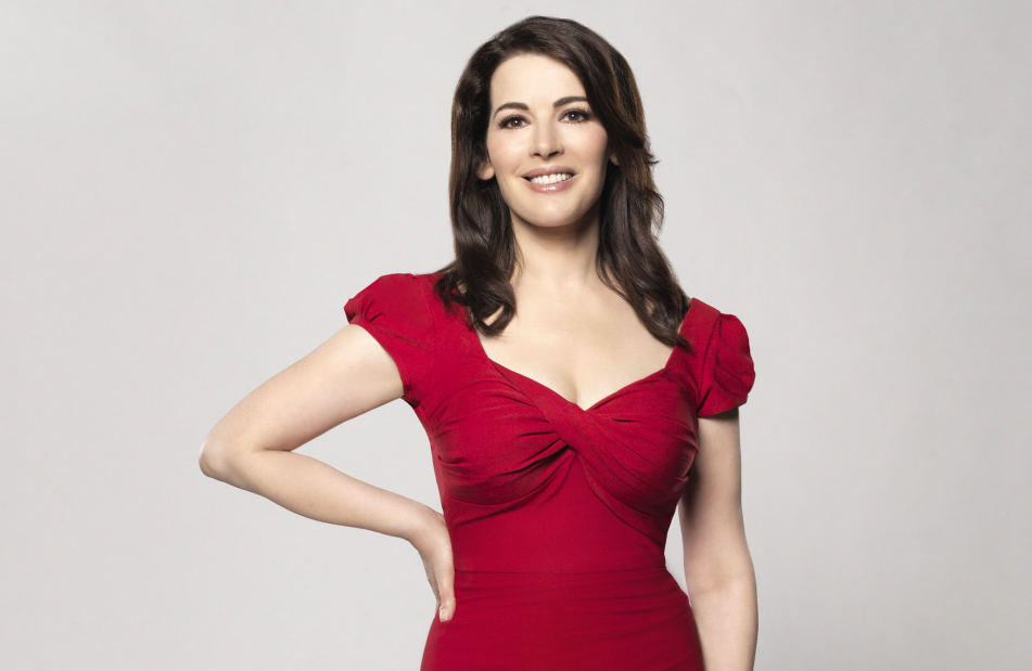 Nigella Lawson, a famous food writer and television chef