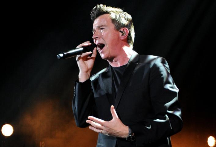 Rick Astley Singing