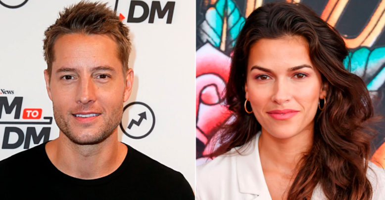 Justin Hartley and his girlfriend, Sofia Pernas
