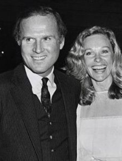 Charles Grodin and his first wife, Elissa Durwood