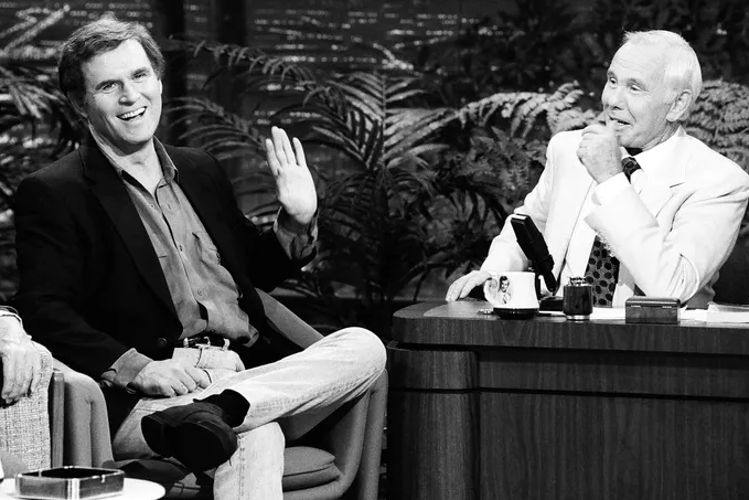 Charles Grodin and Johnny Carson