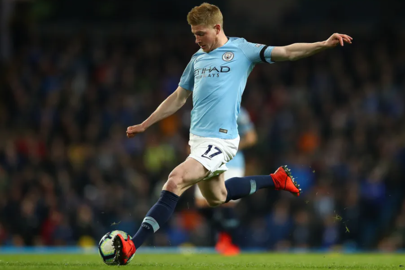 Kevin De Bruyne, a professional ootballer for Manchester City