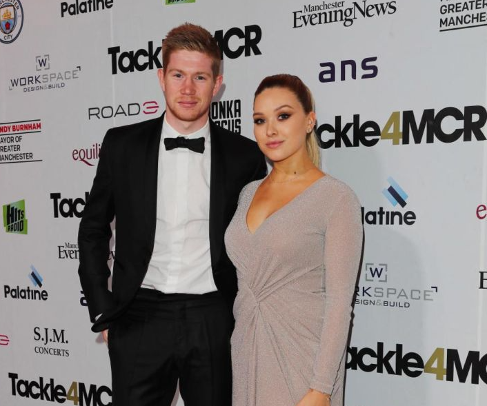 Kevin De Bruyne and his wife, Michele Lacroix