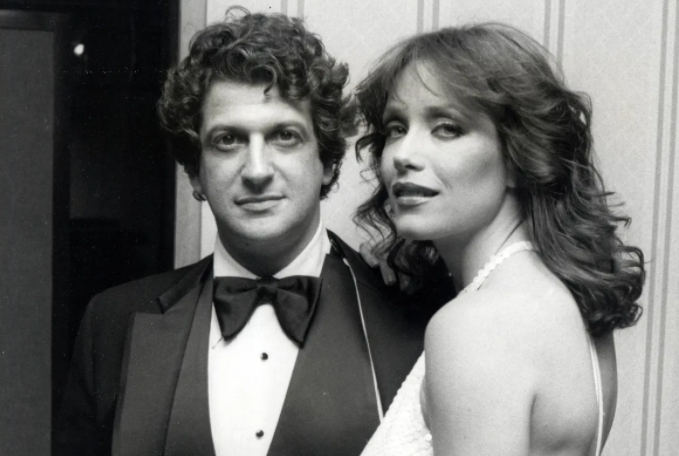 Tanya Roberts and her husband, Barry Roberts