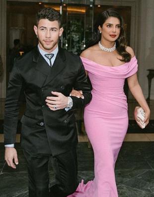 Priyanka Chopra and Nick Jonas in Golden Globe Award 2020