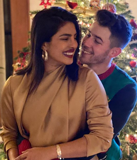 Priyanka Chopra With Her Husband Nick Jonas