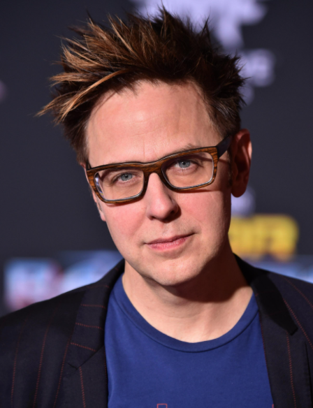 James Gunn, a famous film director, producer, and screenwriter