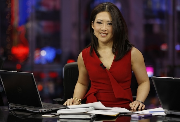 Melissa Lee Reporting In CNBC