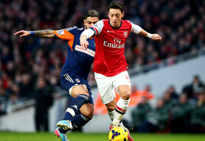 Mesut Ozil for Arsenal as attacking midfielder
