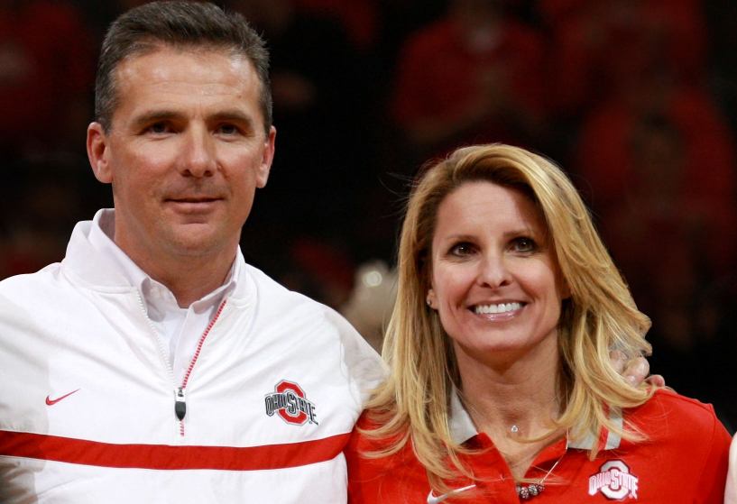 Urban Meyer With His Wife Shelley