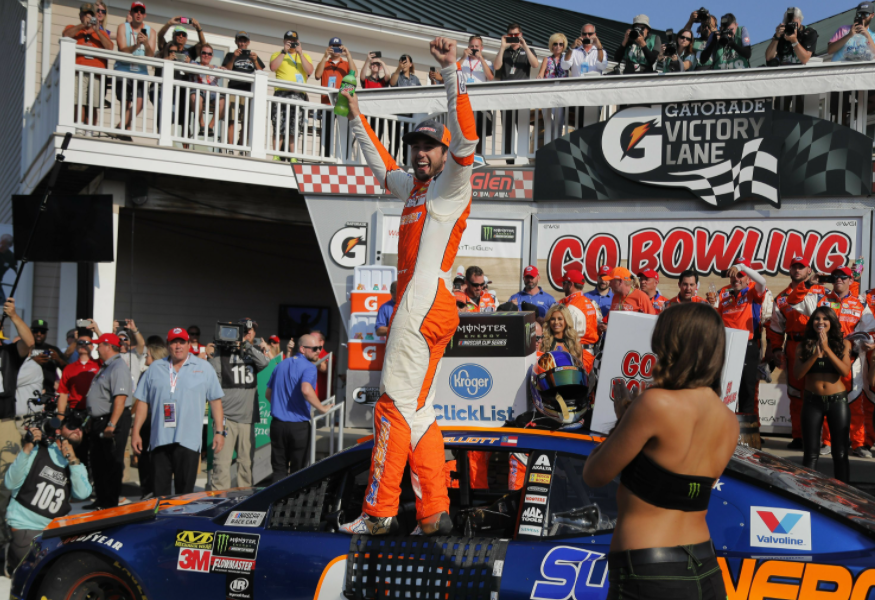 Chase Elliott wins at Watkins Glen, his first Cup victory