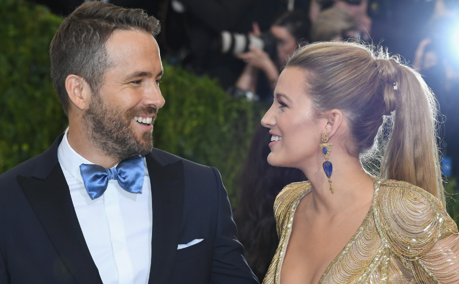 Blake Lively With Her Husband Ryan Reynolds