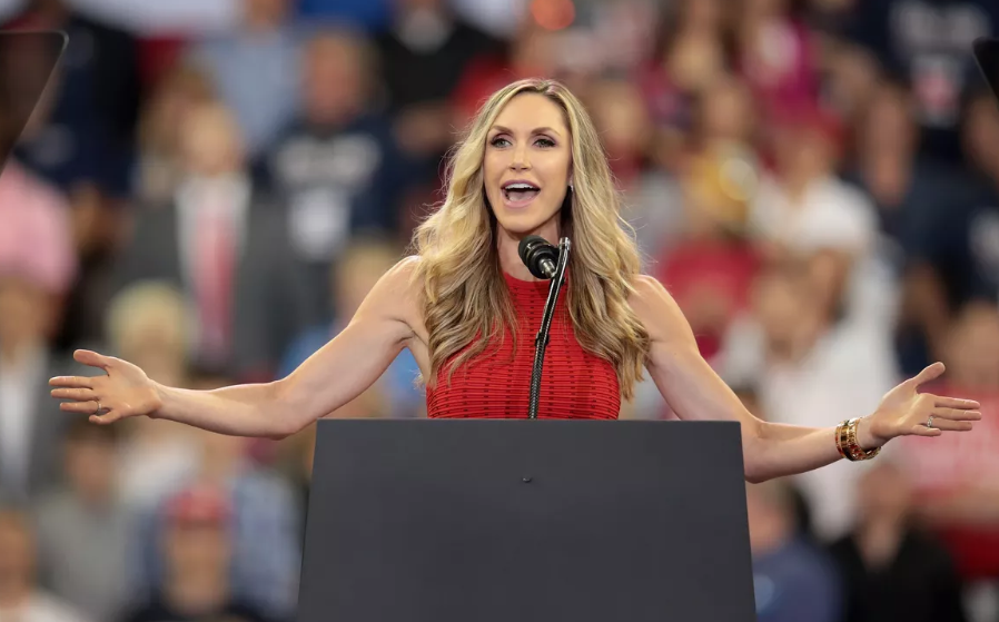 Lara Trump, an American television producer and a campaign advisor