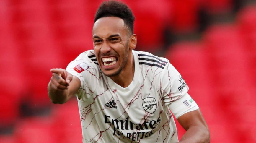 Pierre-Emerick Aubameyang, forward for Arsenal FC