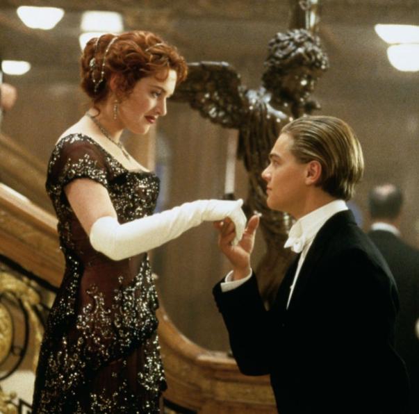 Leonardo DiCaprio in Titatic