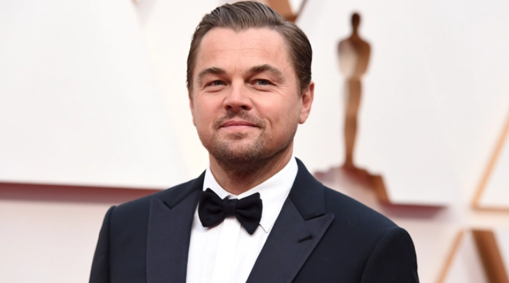 Leonardo DiCaprio,a famous actor