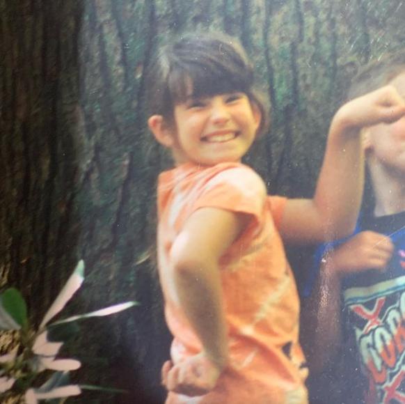 Tess Holliday Childhood Snap