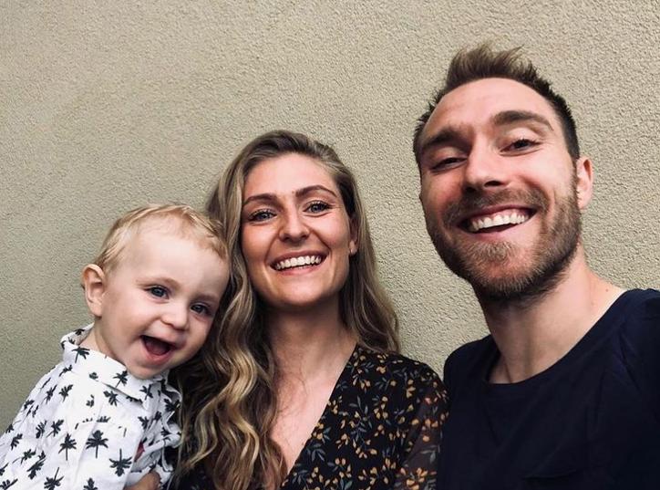 Christian Eriksen Family