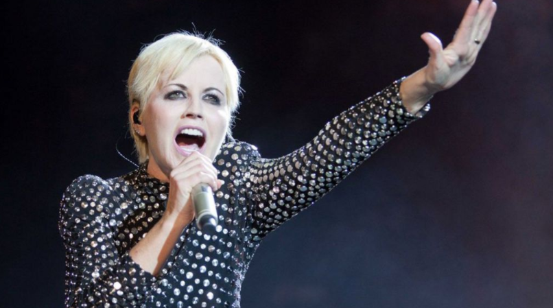Dolores O'Riordan, a famous singer and songwriter