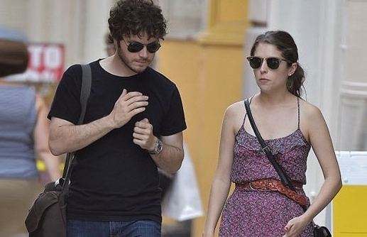 Anna Kendrick With Her Boyfriend Ben Richardson