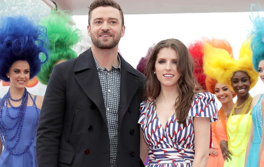 Anna Kendrick With Justin Timberlake