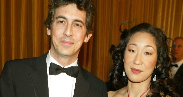 Sandra Oh With Her Husband