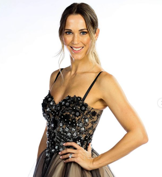Bec Hewitt participated on the Australian reality show 'Dancing With The Stars'
