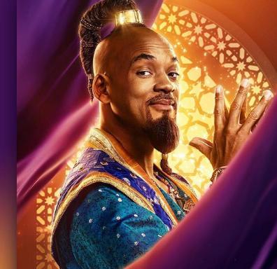 Will Smith In the Movie Aladdin
