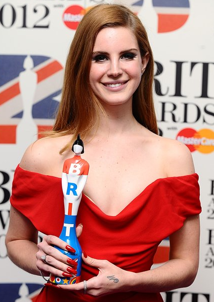 Lana Del Rey With BRIT Awards