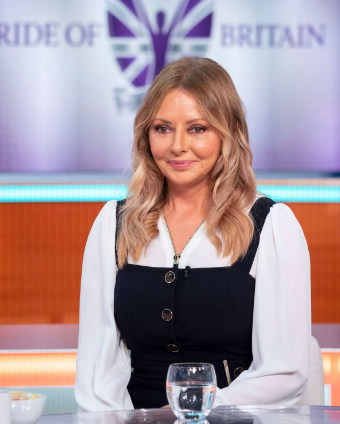 Carol Vorderman in the Good Morning Britain