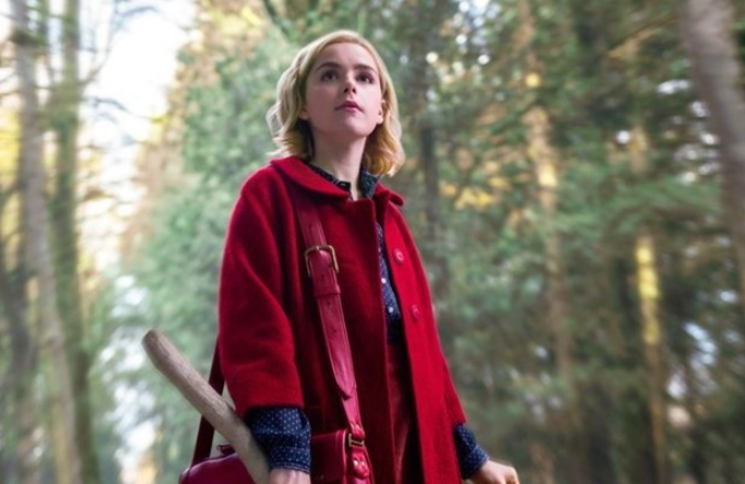 Kiernan Shipka in the netflix series Chilling Adventures of Sabrina