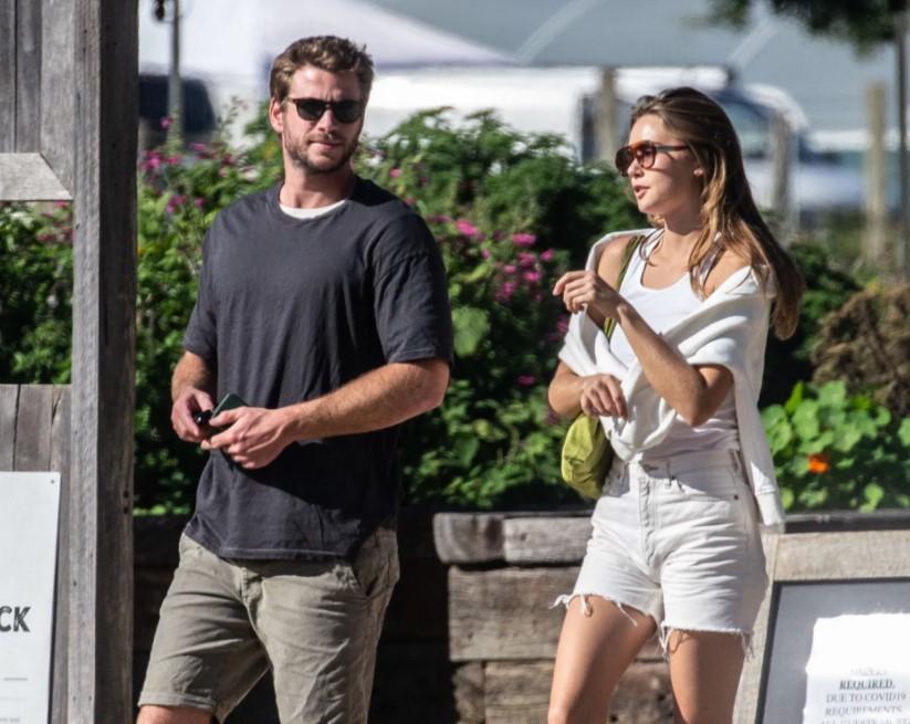 Liam Hemsworth girlfriend