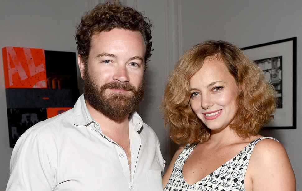 Danny Masterson with his wife Bijou Phillips