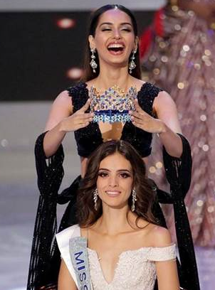Vanessa Ponce of Mexico was crowned as Miss World 2018 by outgoing queen Manushi Chhillar