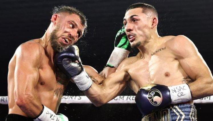 Vasyl Lomachenko against Teofimo Lopez