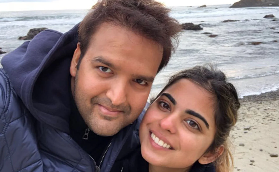 Isha Ambani With Her Husband Anand Piramal