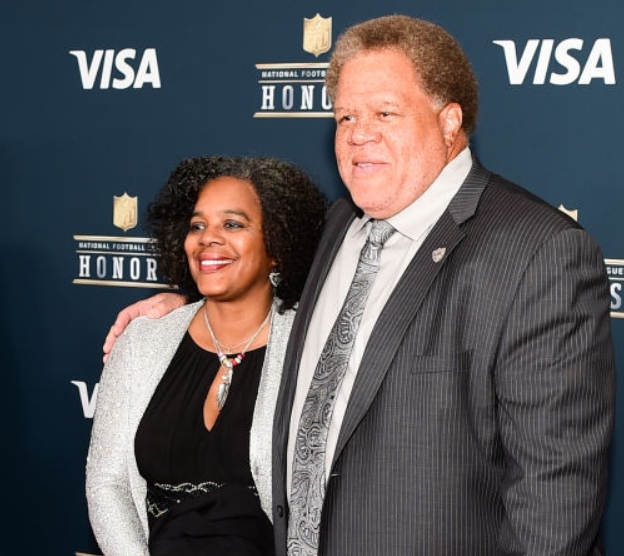 Reggie McKenzie with his Wife