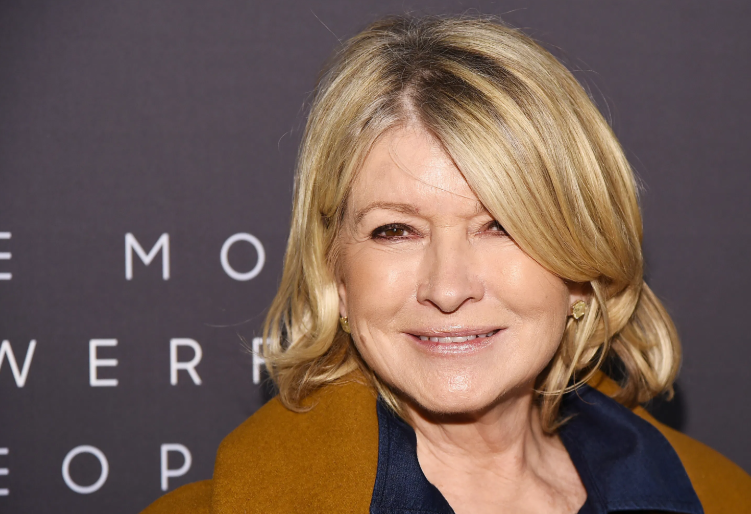 Martha Stewart, an American retail businesswoman, writer, television personality, and former model