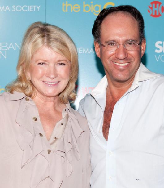 Martha Stewart with her ex-husband, Andrew Stewart