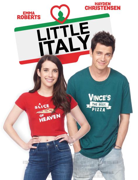 Hayden Christensen and Emma Roberts in 'Little Italy'