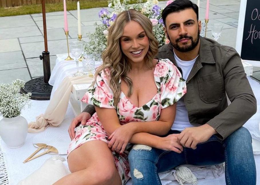 Vicky Pattison and her boyfriend, Ercan Ramadan